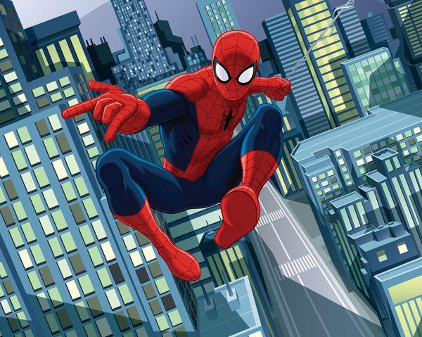 Fototapeta Walltastic NEW The Ultimate Spiderman 43824