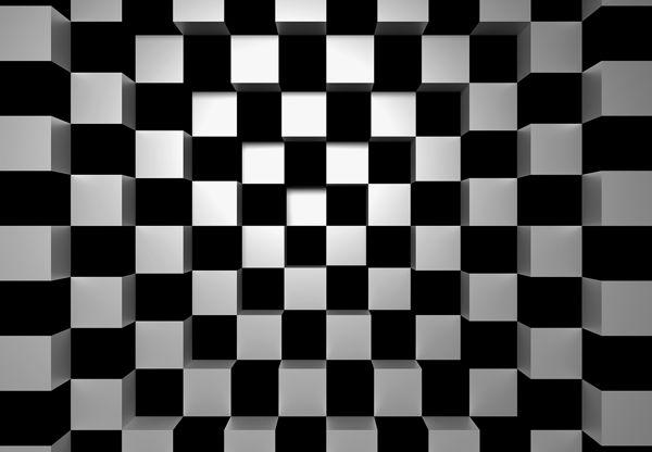W+G 00968 Black + White Square